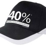 Cappello 40%