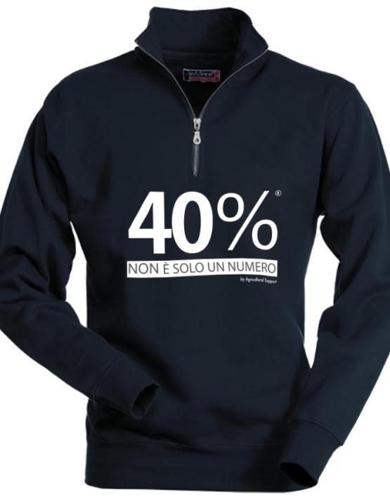 Felpa linea 40%